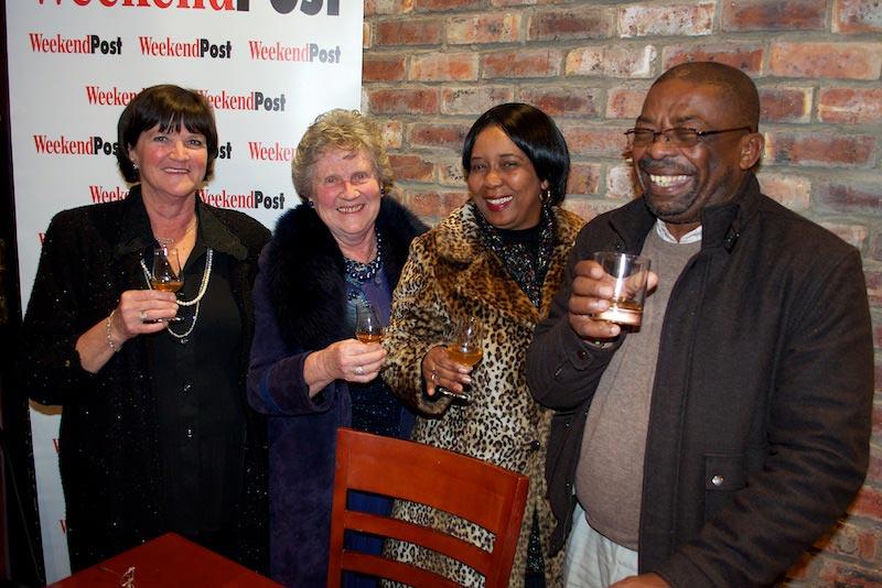 Runa Bower, Faith McCay, Constance Ngeni and Thabile Makamba.